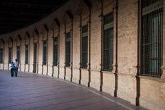 Σεβίλη, Ανδαλουσία, Ισπανία - διάδρομος Plaza της Ισπανίας στη Σεβίλη Στοκ εικόνες με δικαίωμα ελεύθερης χρήσης