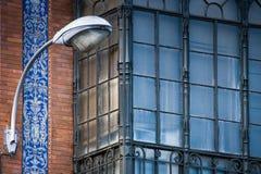 Σεβίλη, Ανδαλουσία, Ισπανία - παλαιά azulejos και σύγχρονα κτήρια Στοκ Φωτογραφία
