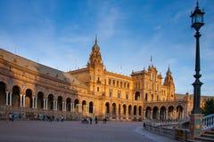 Σεβίλη, Ανδαλουσία, Ισπανία - Plaza της Ισπανίας στη Σεβίλη Στοκ εικόνες με δικαίωμα ελεύθερης χρήσης