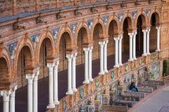 Σεβίλη, Ανδαλουσία, Ισπανία - Plaza της Ισπανίας στη Σεβίλη Στοκ Φωτογραφία