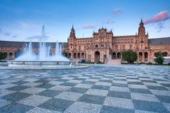 Σεβίλη, Ανδαλουσία, Ισπανία - Plaza της Ισπανίας στη Σεβίλη Στοκ φωτογραφία με δικαίωμα ελεύθερης χρήσης