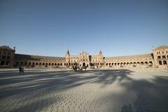 Σεβίλλη Ανδαλουσία, Ισπανία: Plaza de Espana Στοκ φωτογραφίες με δικαίωμα ελεύθερης χρήσης