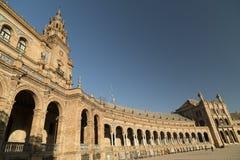 Σεβίλλη Ανδαλουσία, Ισπανία: Plaza de Espana Στοκ εικόνα με δικαίωμα ελεύθερης χρήσης
