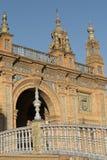 Σεβίλλη Ανδαλουσία, Ισπανία: Plaza de Espana Στοκ φωτογραφία με δικαίωμα ελεύθερης χρήσης