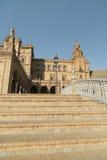 Σεβίλλη Ανδαλουσία, Ισπανία: Plaza de Espana Στοκ Εικόνα
