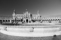Σεβίλλη Ανδαλουσία, Ισπανία: Plaza de Espana Στοκ εικόνες με δικαίωμα ελεύθερης χρήσης