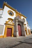 Σεβίλη - η πρόσοψη Plaza del Toros Στοκ Εικόνες