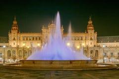 Σεβίλη Ισπανικό τετράγωνο ή Plaza de Espana Στοκ εικόνες με δικαίωμα ελεύθερης χρήσης
