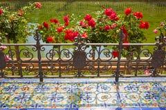 Σεβίλη Σεβίλλη Plaza de Espana στην Ανδαλουσία Στοκ Εικόνες