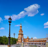 Σεβίλη Σεβίλλη Plaza Espana Ανδαλουσία Ισπανία Στοκ εικόνες με δικαίωμα ελεύθερης χρήσης