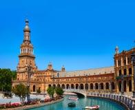 Σεβίλη Σεβίλλη Plaza Espana Ανδαλουσία Ισπανία Στοκ Εικόνα
