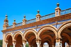 Σεβίλη Σεβίλλη Plaza Espana Ανδαλουσία Ισπανία Στοκ φωτογραφία με δικαίωμα ελεύθερης χρήσης