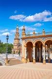 Σεβίλη Σεβίλλη Plaza Espana Ανδαλουσία Ισπανία Στοκ Εικόνες