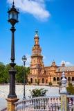 Σεβίλη Σεβίλλη Plaza Espana Ανδαλουσία Ισπανία Στοκ εικόνα με δικαίωμα ελεύθερης χρήσης