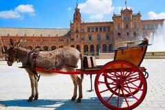Σεβίλη Σεβίλλη Plaza Espana Ανδαλουσία Ισπανία Στοκ Φωτογραφία