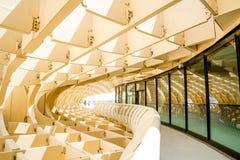 ΣΕΒΙΛΛΗ, ΙΣΠΑΝΙΑ - 5 ΙΟΥΝΊΟΥ: Parasol Metropol Plaza de Λα Encarna Στοκ Εικόνες