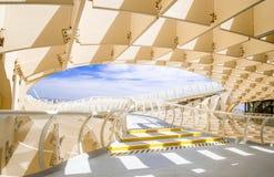 ΣΕΒΙΛΛΗ, ΙΣΠΑΝΙΑ - 5 ΙΟΥΝΊΟΥ: Parasol Metropol Plaza de Λα Encarna Στοκ Φωτογραφία