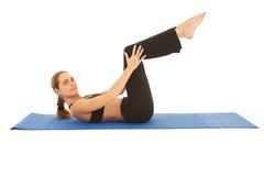 σειρά άσκησης pilates στοκ φωτογραφίες