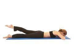 σειρά άσκησης pilates στοκ εικόνα με δικαίωμα ελεύθερης χρήσης