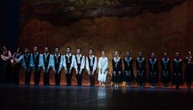 Σειρά αναμονής-μπαλέτο το κορίτσι από Arles Στοκ Φωτογραφίες