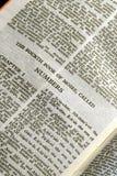 σειρά αριθμών Βίβλων Στοκ Φωτογραφίες