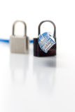 σειρά ασφάλειας δικτύων Στοκ εικόνα με δικαίωμα ελεύθερης χρήσης