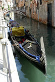 σειρά Βενετία γονδολών Στοκ φωτογραφία με δικαίωμα ελεύθερης χρήσης