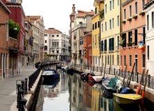 σειρά Βενετία καναλιών Στοκ Εικόνες