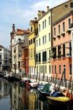 σειρά Βενετία καναλιών στοκ φωτογραφίες