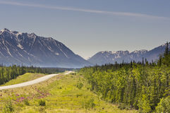 Σειρά βουνών Αγίου Elias Στοκ φωτογραφία με δικαίωμα ελεύθερης χρήσης