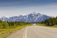 Σειρά βουνών Αγίου Elias Στοκ Φωτογραφία