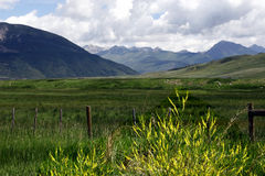 σειρά βουνών δύσκολη Στοκ εικόνες με δικαίωμα ελεύθερης χρήσης