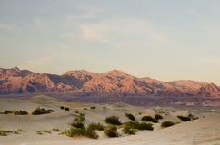 σειρά βουνών ερήμων Στοκ Φωτογραφίες