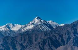 Σειρά βουνών, Ινδία Στοκ φωτογραφία με δικαίωμα ελεύθερης χρήσης