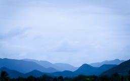 Σειρά βουνών στην Ταϊλάνδη Στοκ φωτογραφία με δικαίωμα ελεύθερης χρήσης