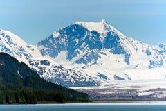 Σειρά βουνών της Αλάσκας Στοκ εικόνα με δικαίωμα ελεύθερης χρήσης