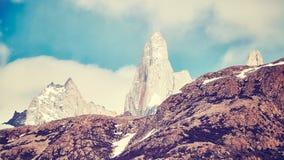 Σειρά βουνών της Fitz Roy, Αργεντινή Στοκ Εικόνες