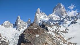 Σειρά βουνών της Fitz Roy, Αργεντινή στοκ φωτογραφία