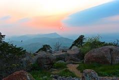 Σειρά βουνών του Wichita Στοκ φωτογραφία με δικαίωμα ελεύθερης χρήσης