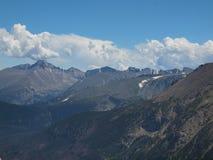 σειρά βουνών δύσκολη Στοκ Εικόνες