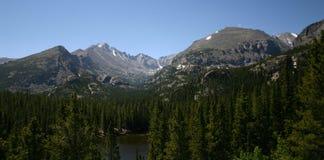 σειρά βουνών στοκ φωτογραφία