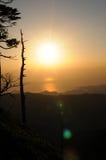 Σειρά βουνών Στοκ εικόνες με δικαίωμα ελεύθερης χρήσης