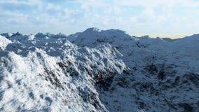 Σειρά 3 βουνών απόθεμα βίντεο