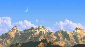 σειρά βουνών στοκ εικόνες