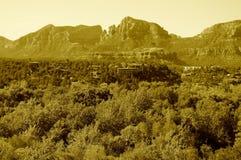 σειρά βουνών Στοκ Φωτογραφίες