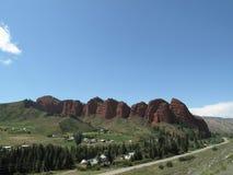 Σειρά βουνών στοκ φωτογραφίες με δικαίωμα ελεύθερης χρήσης