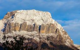 Σειρά βουνών Aravis, Γαλλία Στοκ Φωτογραφία