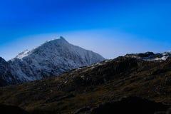 Σειρά βουνών Snowdonia Στοκ εικόνες με δικαίωμα ελεύθερης χρήσης