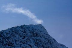 Σειρά βουνών Snowdonia Στοκ εικόνα με δικαίωμα ελεύθερης χρήσης