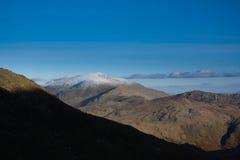 Σειρά βουνών Snowdonia Στοκ Εικόνα